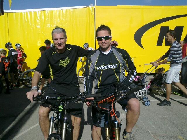 Filou et Francky Team vtt capestang Roc Azur 2013